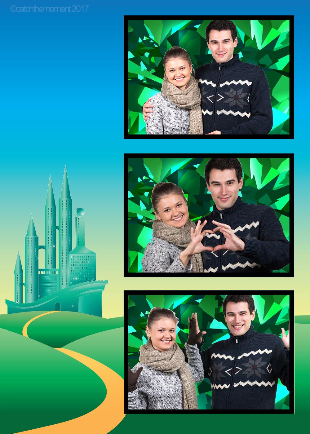 Wizard of Oz Photo Strip