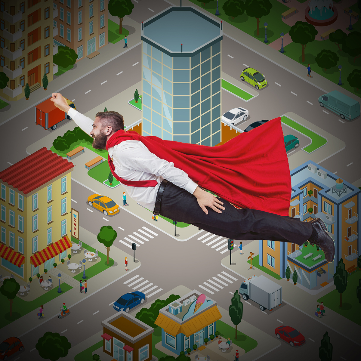 Super Hero City