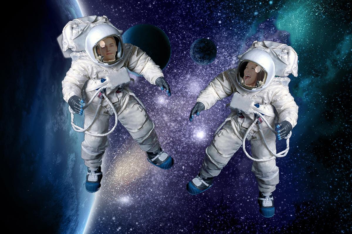 Double Astronaut
